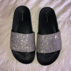 Shoes - SPARKLY SLIDES
